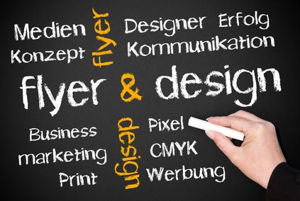 Flyer & Design – Fragen Sie mich